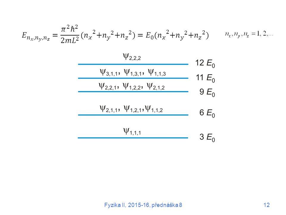 Fyzika II, 2015-16, přednáška 812