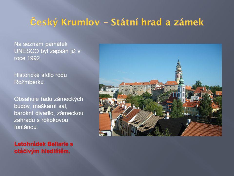 Na seznam památek UNESCO byl zapsán již v roce 1992.