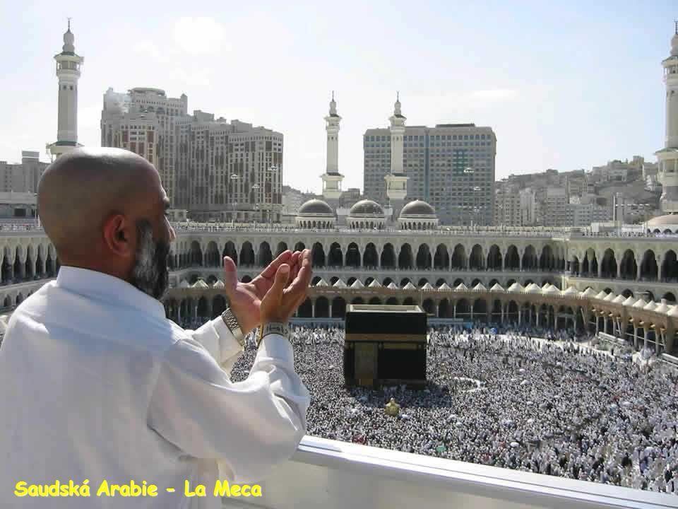 Saudská Arabie - La Meca