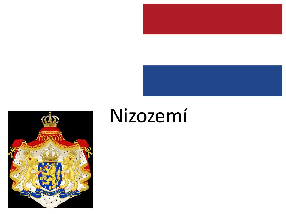 Citace Nizozemská vlajka: http://cs.wikipedia.org/wiki/Soubor:Flag_of_the_Netherlands.svghttp://cs.wikipedia.org/wiki/Soubor:Flag_of_the_Netherlands.svg Nizozemský znak: http://cs.wikipedia.org/wiki/Soubor:Coat_of_arms_of_the_Netherlands_(1815- 1907).svghttp://cs.wikipedia.org/wiki/Soubor:Coat_of_arms_of_the_Netherlands_(1815- 1907).svg Vilém Alexandr: http://cs.wikipedia.org/wiki/Soubor:Guilherme_Alexandre,_pr%C3%ADncipe_de_Orange.jpg http://cs.wikipedia.org/wiki/Soubor:Guilherme_Alexandre,_pr%C3%ADncipe_de_Orange.jpg Beatrix Nizozemská: http://cs.wikipedia.org/wiki/Soubor:Koningin_Beatrix_in_Vries.jpghttp://cs.wikipedia.org/wiki/Soubor:Koningin_Beatrix_in_Vries.jpg Holanďané v oranžovém: http://cs.wikipedia.org/wiki/Soubor:Queensday_2011_Amsterdam_26.jpg http://cs.wikipedia.org/wiki/Soubor:Queensday_2011_Amsterdam_26.jpg 5,53m pod hladinou moře: http://cs.wikipedia.org/wiki/Soubor:Netherlands,_Zoetermeer,_Zoetermeerse_Meerpolder_(1).JPG http://cs.wikipedia.org/wiki/Soubor:Netherlands,_Zoetermeer,_Zoetermeerse_Meerpolder_(1).JPG Noční hlídka: http://cs.wikipedia.org/wiki/Soubor:Rembrandt_van_Rijn-De_Nachtwacht-1642.jpghttp://cs.wikipedia.org/wiki/Soubor:Rembrandt_van_Rijn-De_Nachtwacht-1642.jpg Větrné mlýny: http://cs.wikipedia.org/wiki/Soubor:Kinderdijk11.JPGhttp://cs.wikipedia.org/wiki/Soubor:Kinderdijk11.JPG Rotterdam – přístav: http://cs.wikipedia.org/wiki/Soubor:Maasvlakte-europort.jpghttp://cs.wikipedia.org/wiki/Soubor:Maasvlakte-europort.jpg Utrecht – katedrála: http://commons.wikimedia.org/wiki/File:Dom_vanuit_het_zuidoosten.JPGhttp://commons.wikimedia.org/wiki/File:Dom_vanuit_het_zuidoosten.JPG Coffee shop: http://cs.wikipedia.org/wiki/Soubor:Amsterdam_coffee_shop.jpg Marco van Basten: http://cs.wikipedia.org/wiki/Soubor:Vanbasten.jpghttp://cs.wikipedia.org/wiki/Soubor:Vanbasten.jpg Christian Huygens: http://cs.wikipedia.org/wiki/Soubor:Christiaan_Huygens-painting.jpeghttp://cs.wikipedia.org/wiki/Soubor:Christiaan_Huygens-painting.jpeg Vincent van Gogh: ht