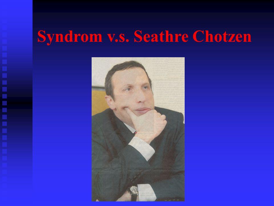 Syndrom v.s. Seathre Chotzen