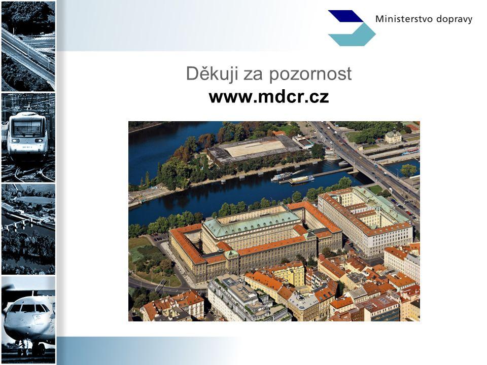 Děkuji za pozornost www.mdcr.cz
