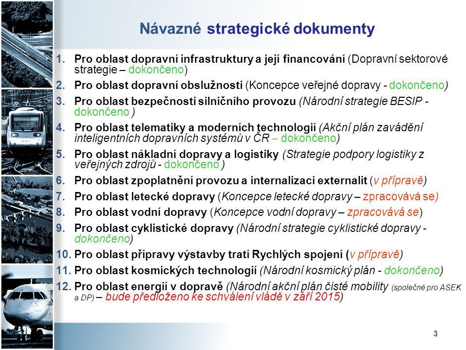 4 Dopravní sektorové strategie, 2.fáze Dopravní sektorové strategie, 2.