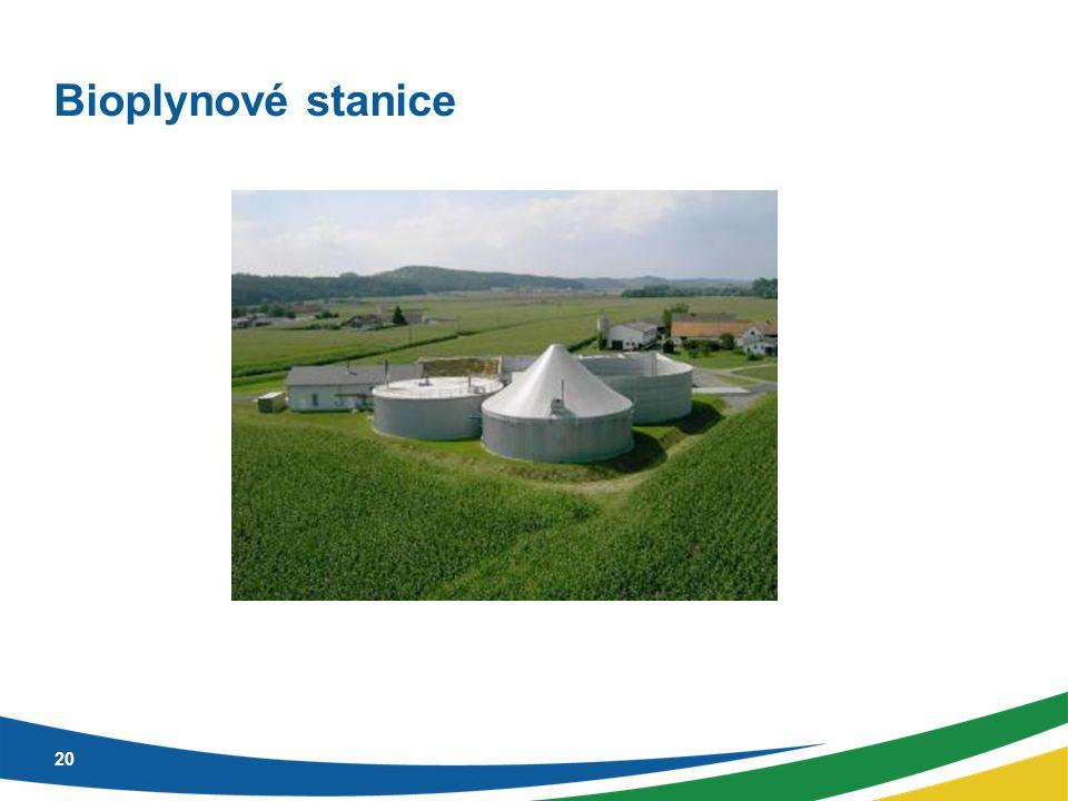 Bioplynové stanice 20