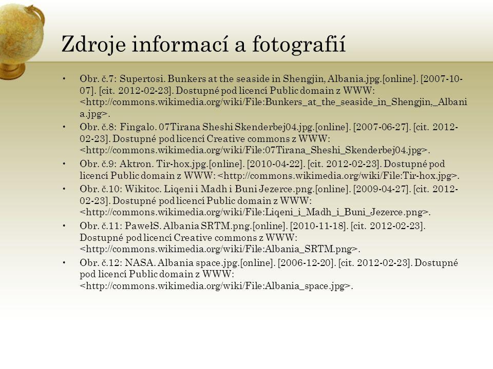 Zdroje informací a fotografií Obr. č.7: Supertosi.
