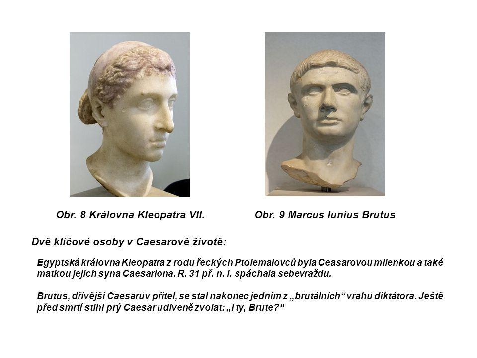 Obr. 8 Královna Kleopatra VII.Obr.
