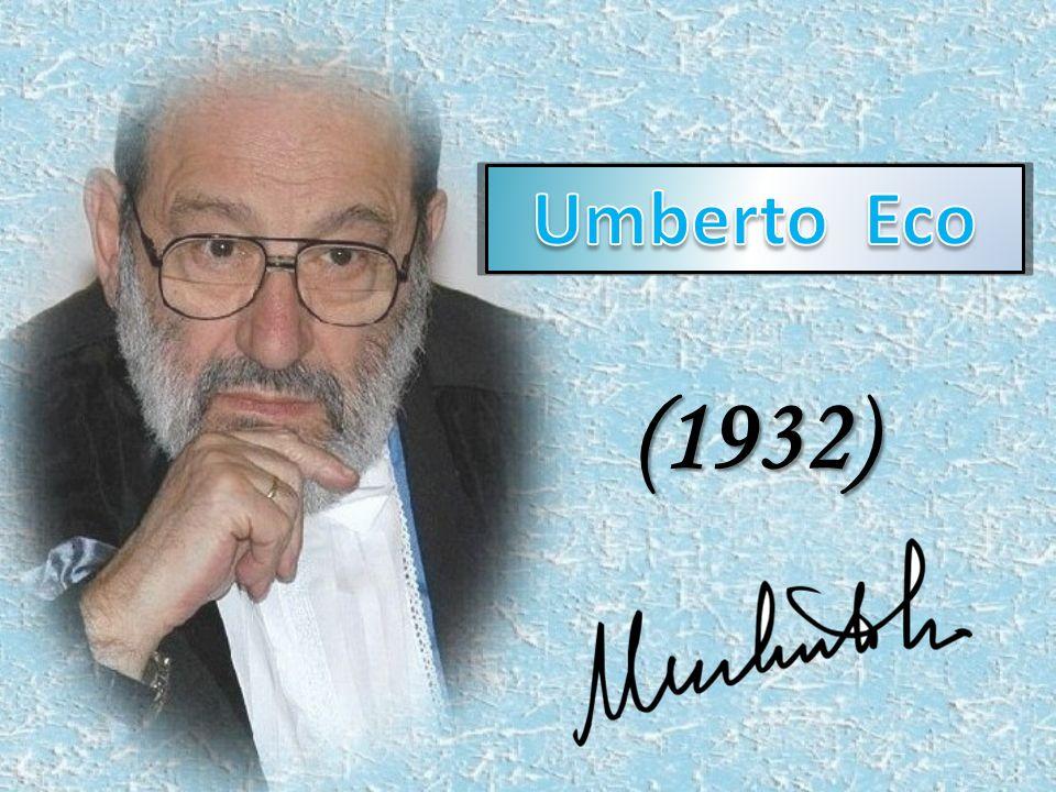 Italský vědec a spisovatel středověké filozofii a literatuře odborné studie a eseje, o výkladu otevřených děl.