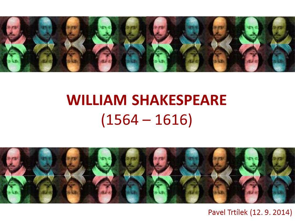  23.dubna 1564 – narozen William S.