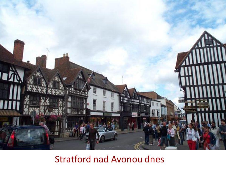 Stratford nad Avonou dnes
