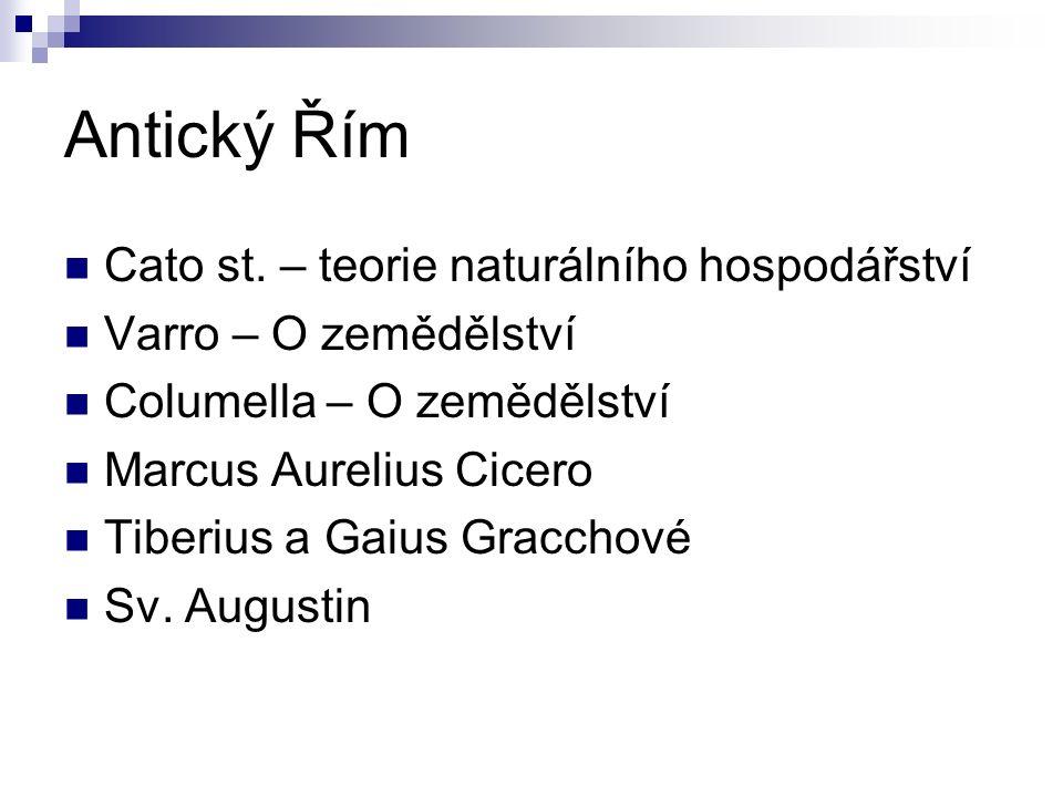 Antický Řím Cato st.