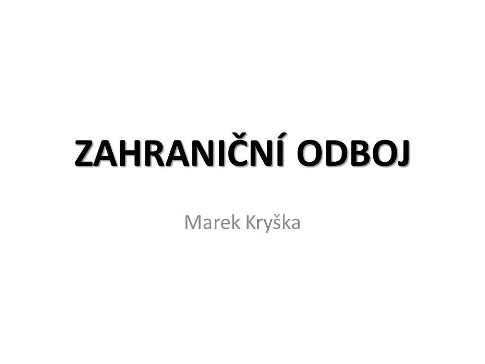 ZAHRANIČNÍ ODBOJ Marek Kryška