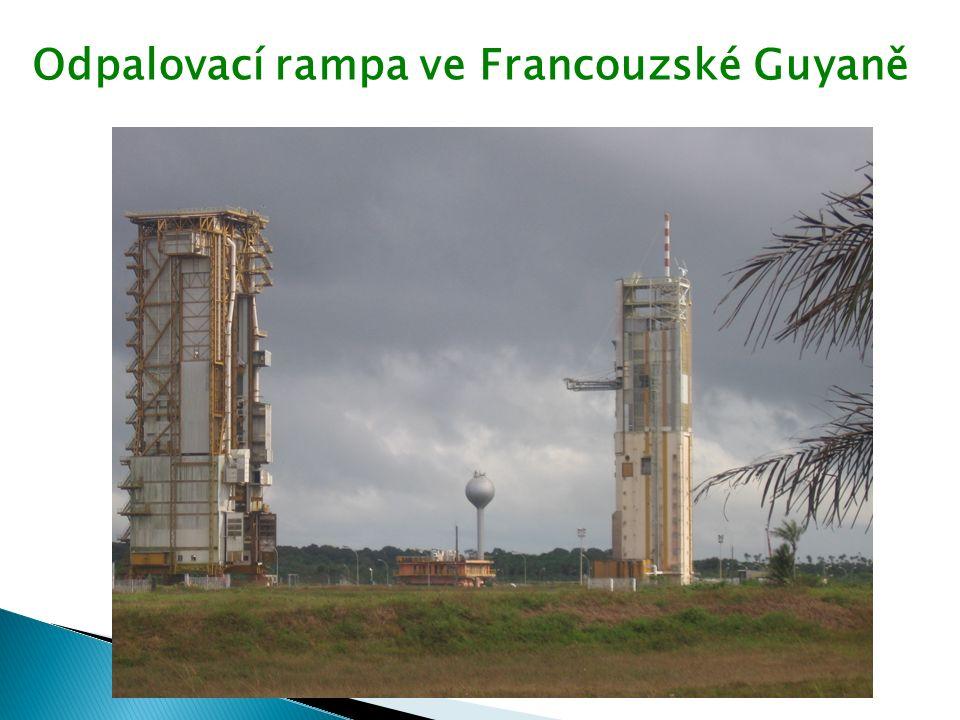 Odpalovací rampa ve Francouzské Guyaně