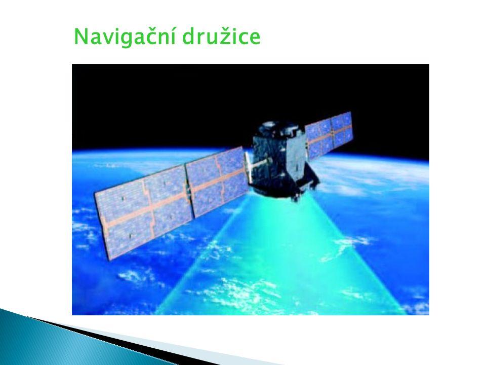 Navigační družice