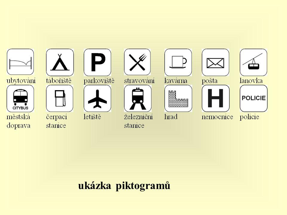 ukázka piktogramů