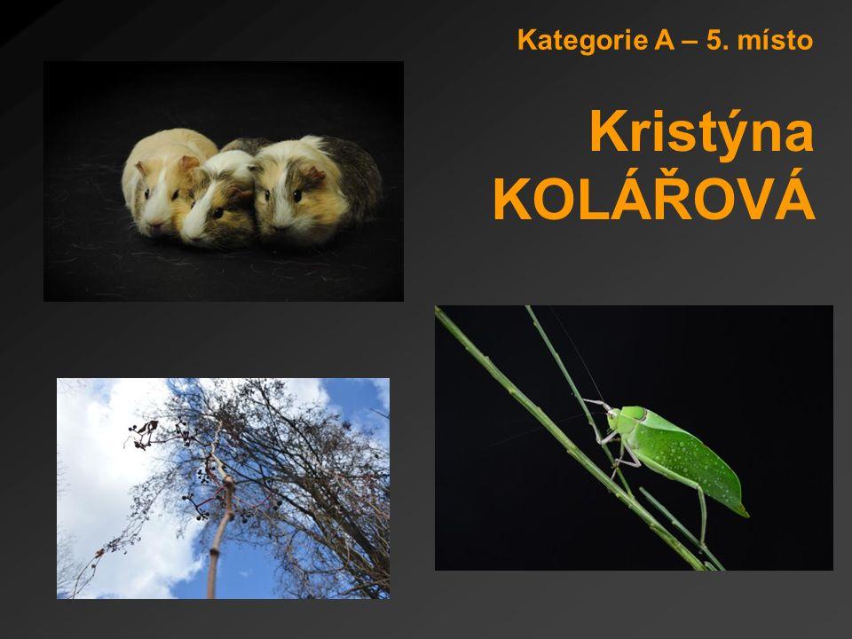 Kategorie A – 5. místo Kristýna KOLÁŘOVÁ