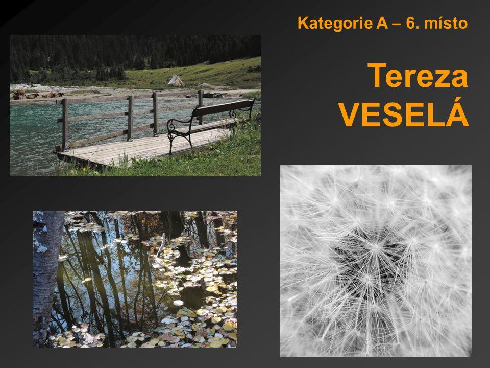 Kategorie A – 6. místo Tereza VESELÁ