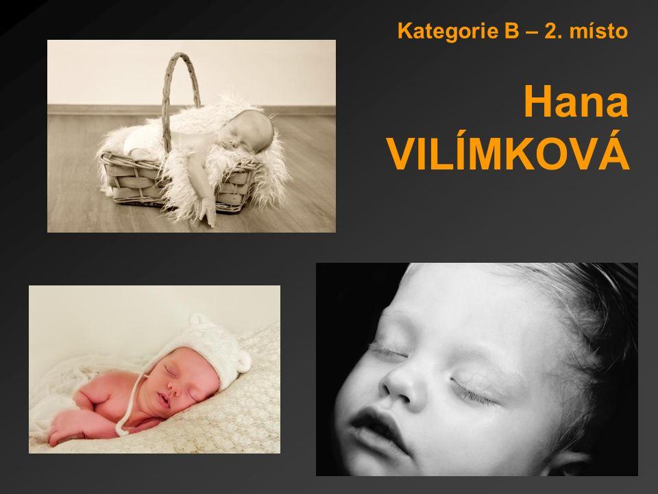 Kategorie B – 2. místo Hana VILÍMKOVÁ