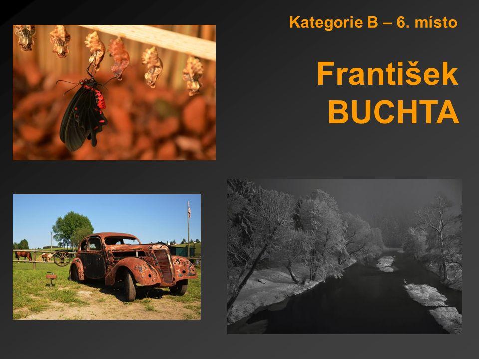 Kategorie B – 6. místo František BUCHTA