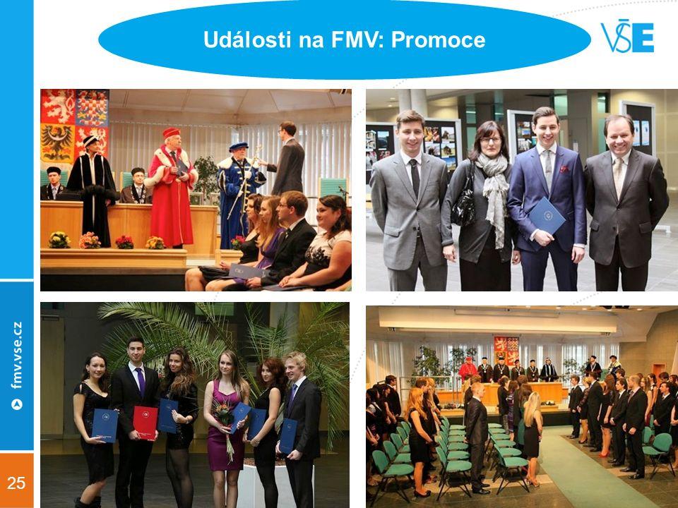 25 Události na FMV: Promoce