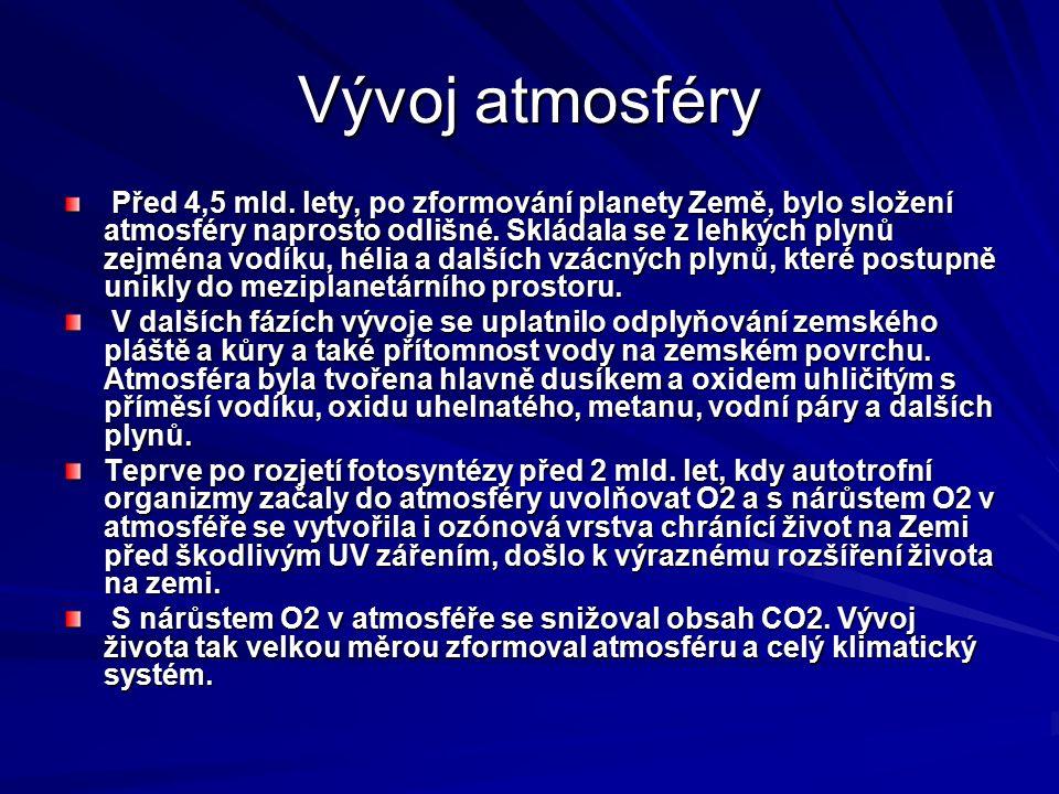 Vliv na lidi 1930 - Údolí Maasy – Belgie 1948 – Donora – USA 1952 – Londýn masivní vlivy, ale o chronických vlivech ve velkoměstech se nemluví Hlavní vstupní branou je dýchací systém SO2 Kyselý aerosol – sírany a H2SO4 Suspendované částice NO2 CO – kargoxihemoglobin O3 Těžké kovy – Pb, Cd, Hg, Ni, As, VOC – C6H6 benzen a jeho alkyl deriváty a benzpyren