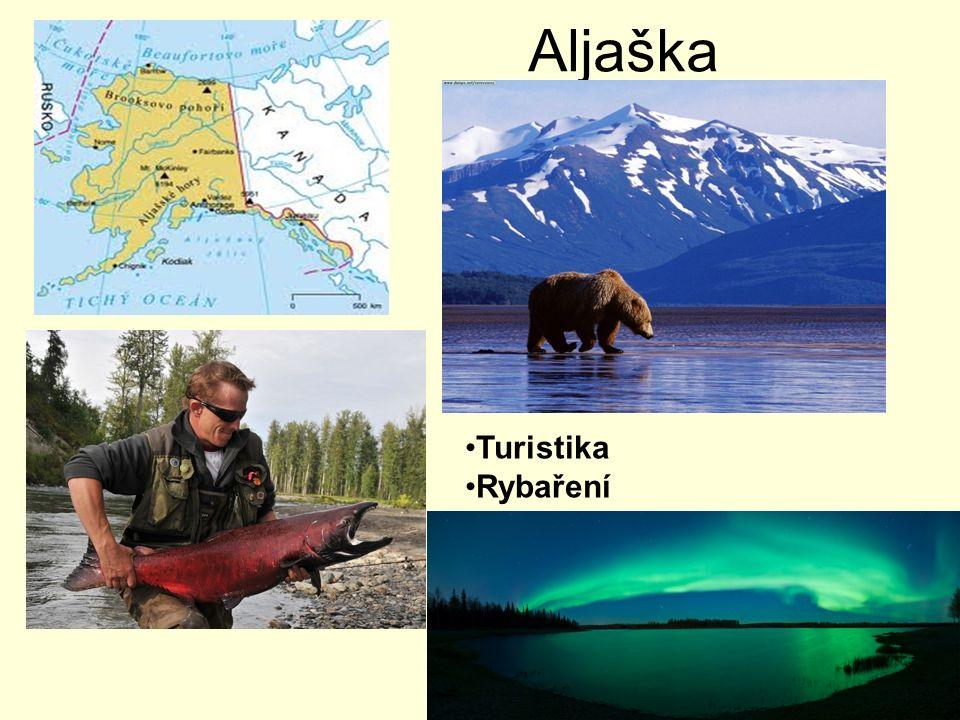 Aljaška Turistika Rybaření