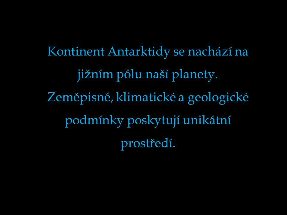 Antarktida Antarktida lednice naší Země Pohled na Antarktidu z družice J@