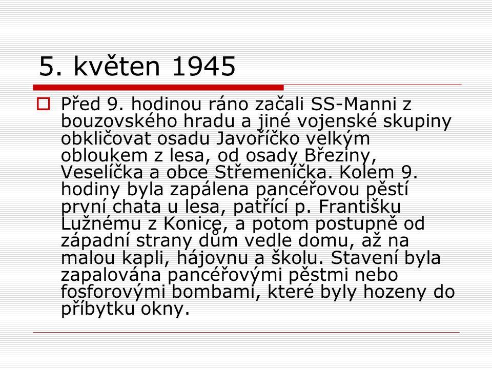 5. květen 1945  Před 9.