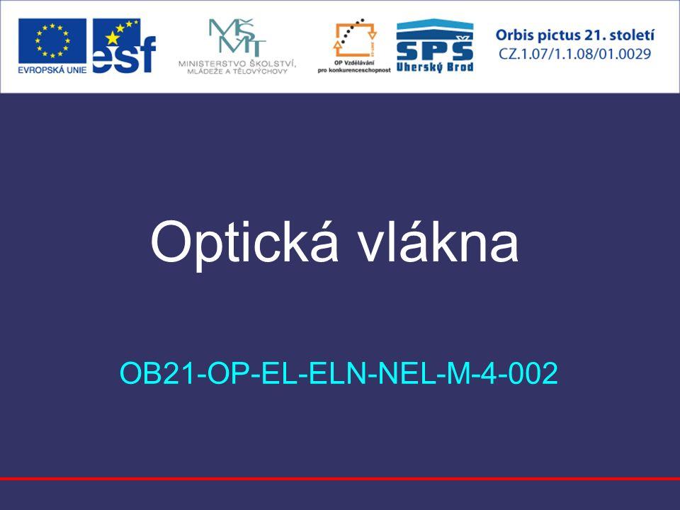 Optická vlákna OB21-OP-EL-ELN-NEL-M-4-002