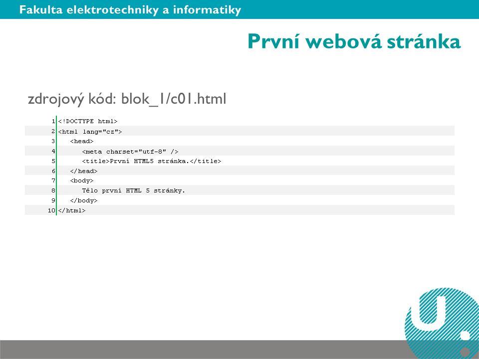 První webová stránka zdrojový kód: blok_1/c01.html