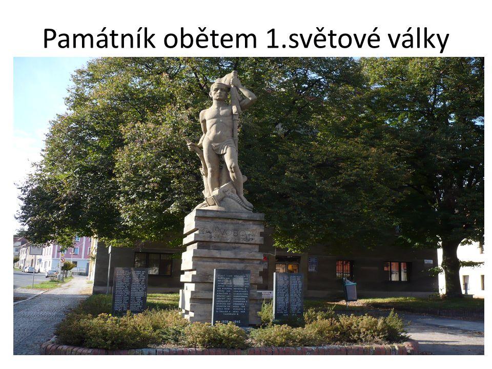 Památník obětem 1.světové války