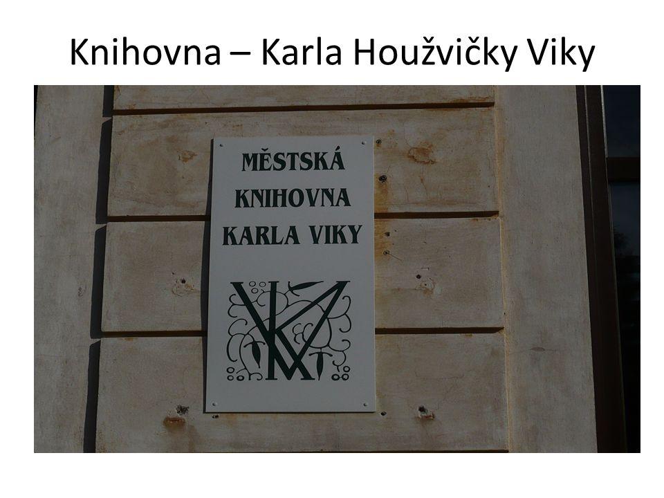Knihovna – Karla Houžvičky Viky