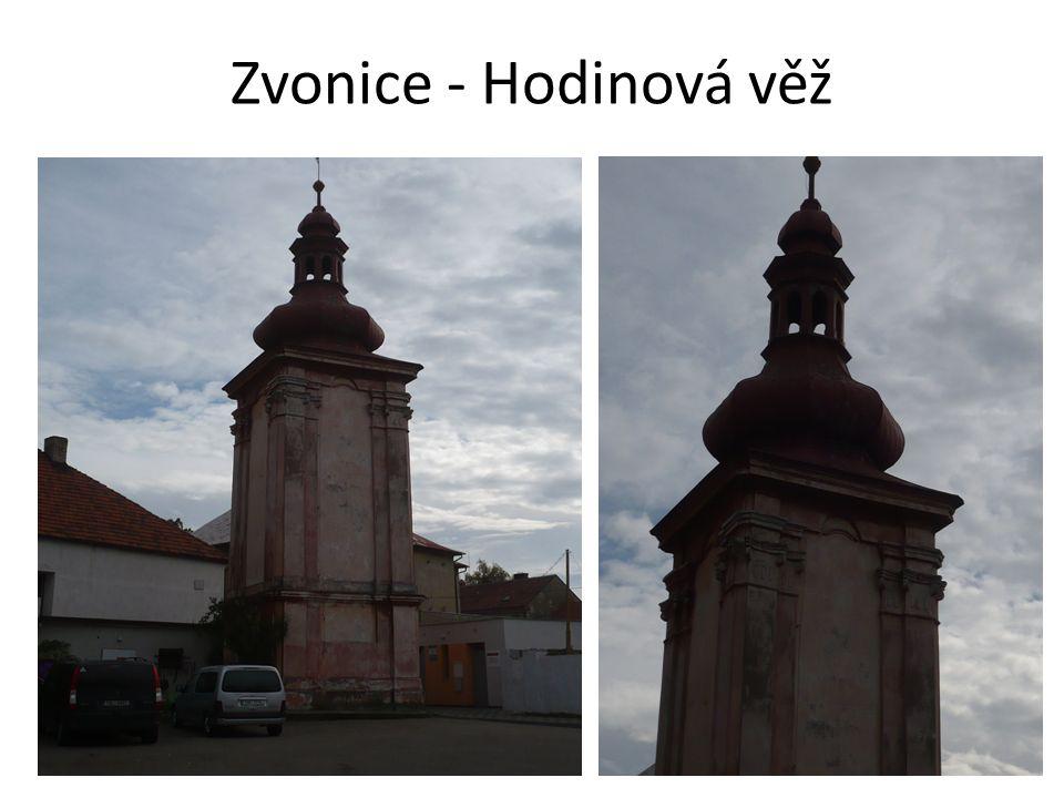 Zvonice - Hodinová věž