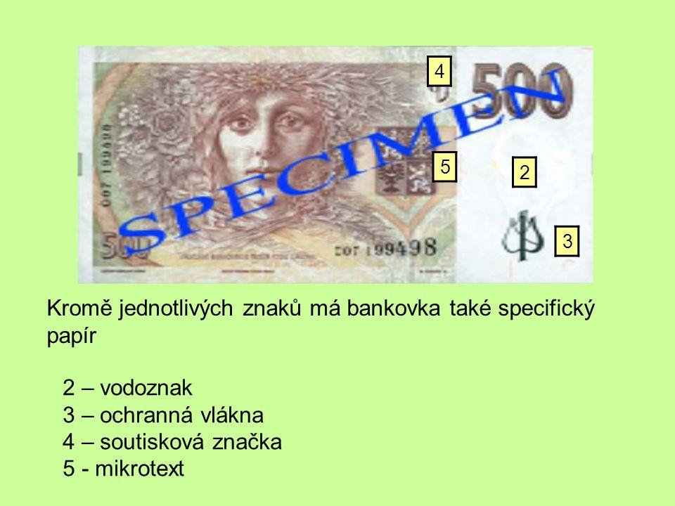 Kontrolní test: 1)Co jsou to kryté bankovky.