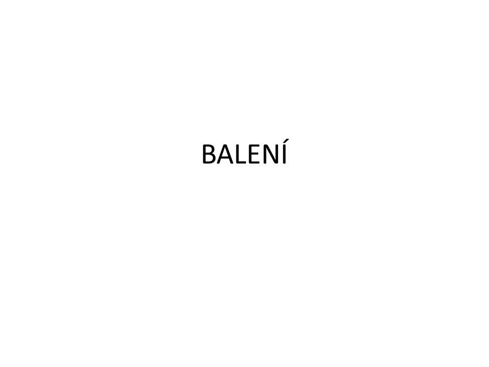 BALENÍ