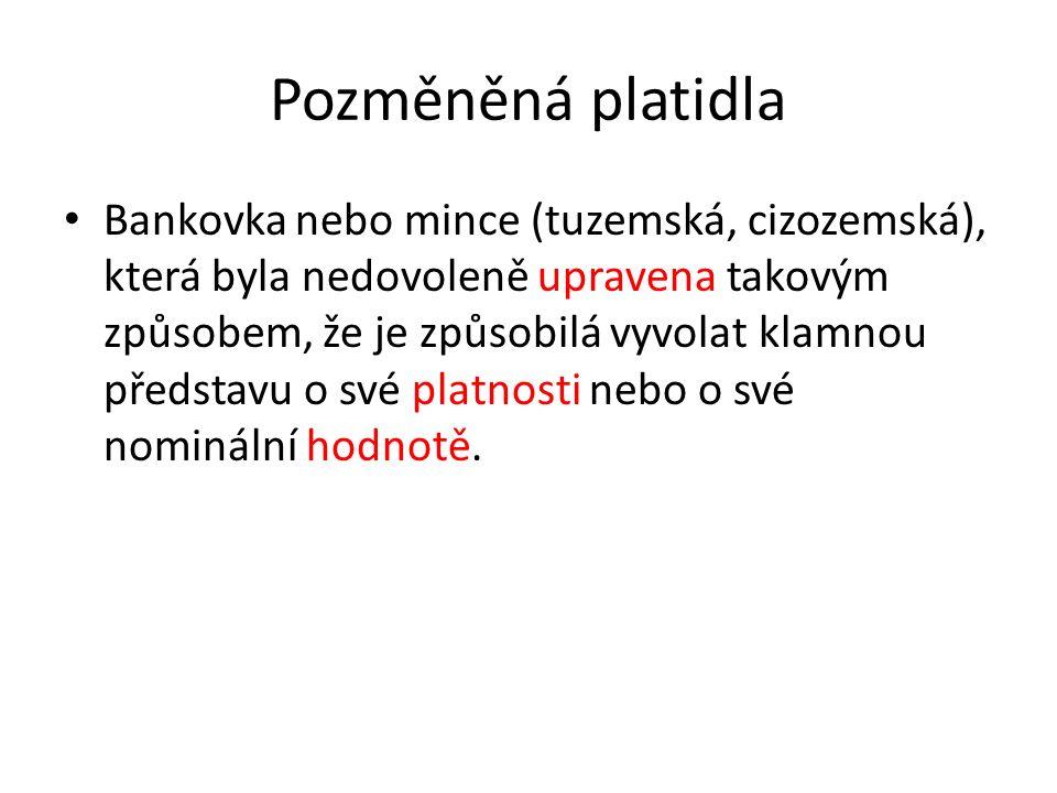 Padělání v evropském právu Nařízení Rady (ES) č.