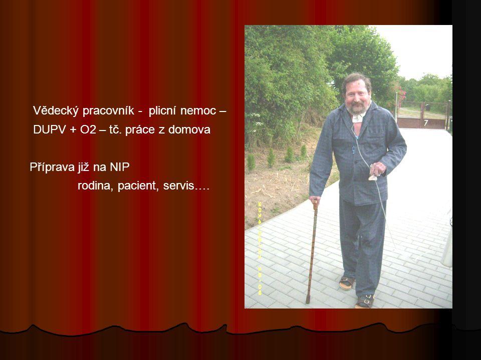 Vědecký pracovník - plicní nemoc – DUPV + O2 – tč.