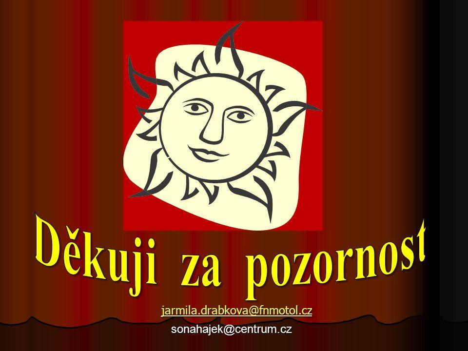 jarmila.drabkova@fnmotol.cz sonahajek@centrum.cz sonahajek@centrum.cz