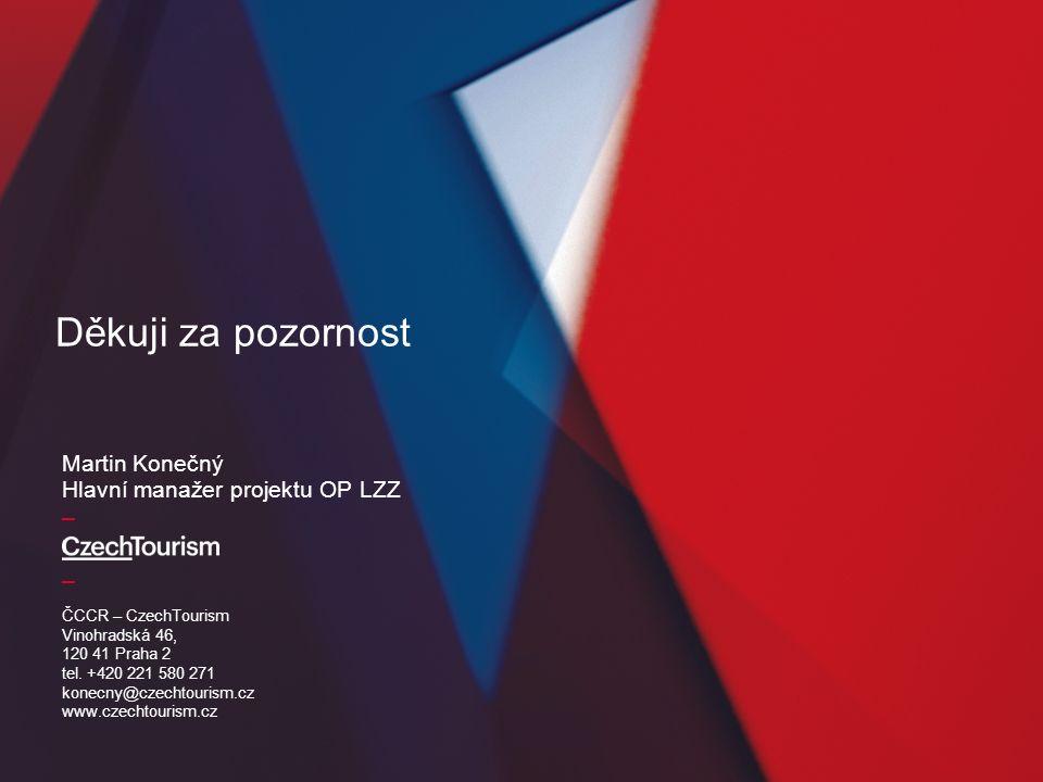 _ _ ČCCR – CzechTourism Vinohradská 46, 120 41 Praha 2 tel. +420 221 580 271 konecny@czechtourism.cz www.czechtourism.cz Martin Konečný Hlavní manažer
