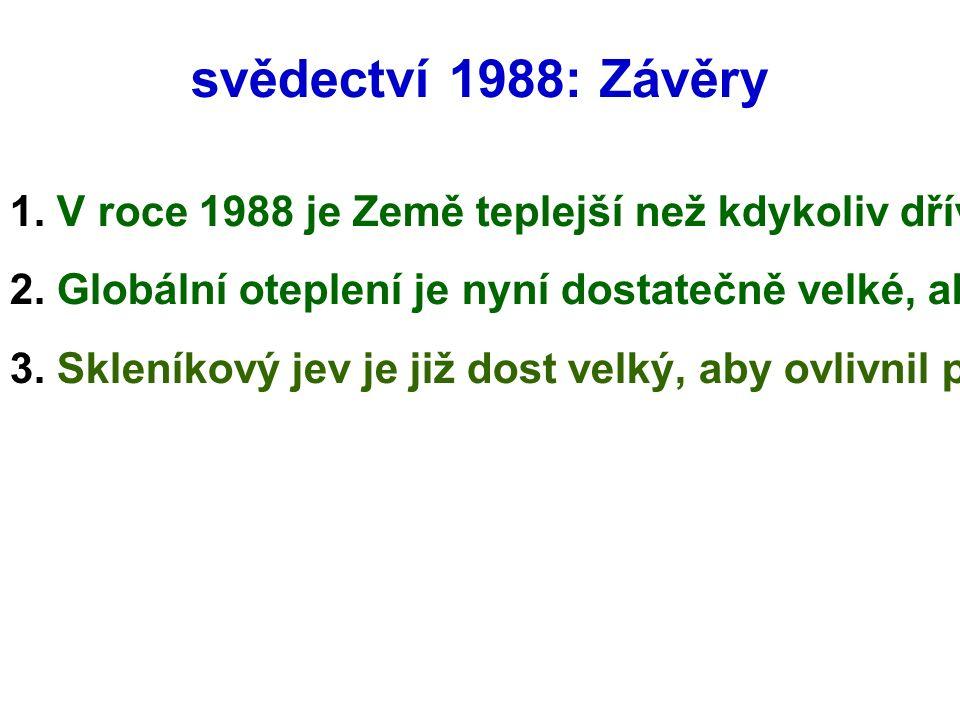 svědectví 1988: Závěry 1.