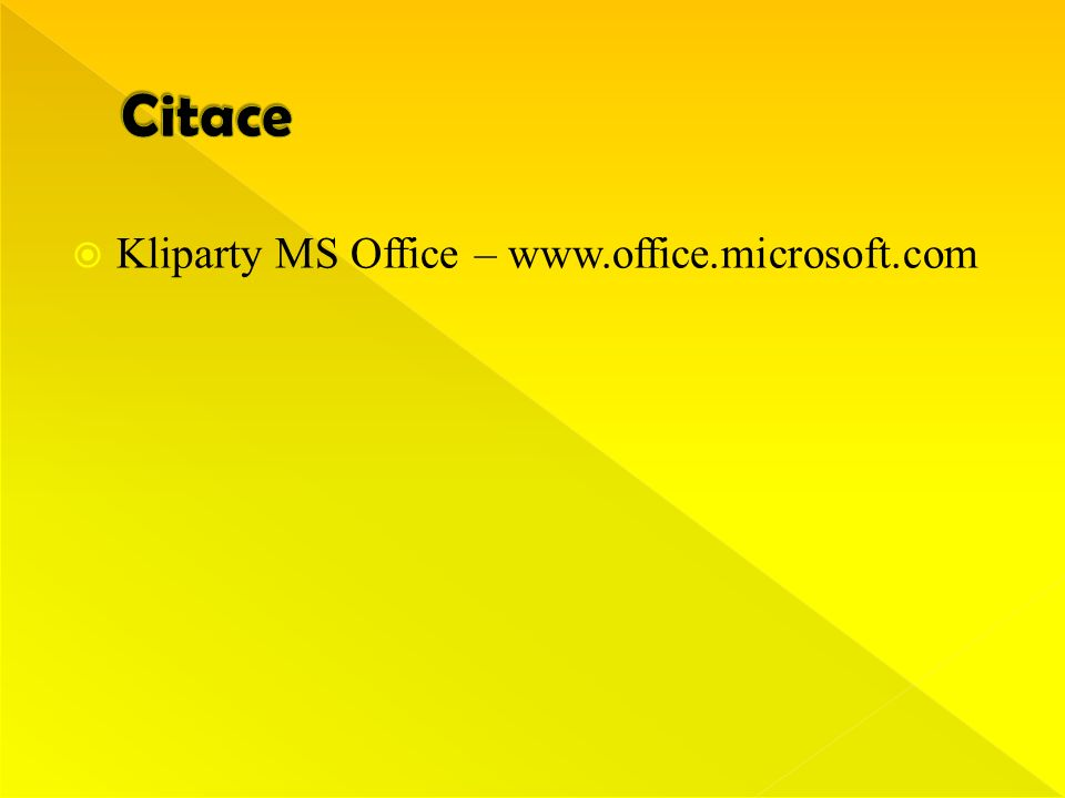  Kliparty MS Office – www.office.microsoft.com