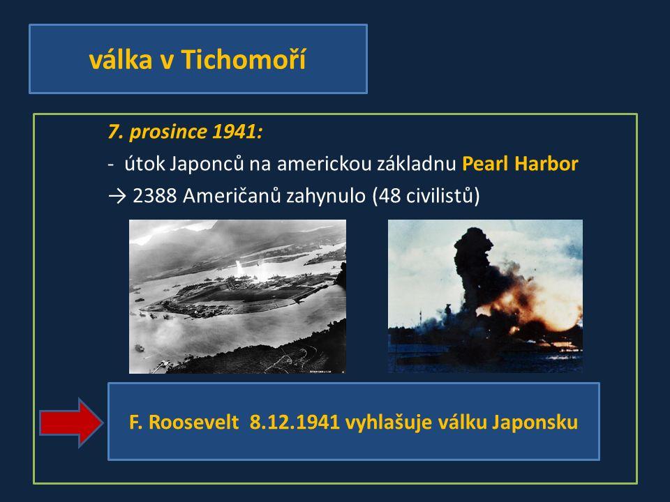 válka v Tichomoří 7.