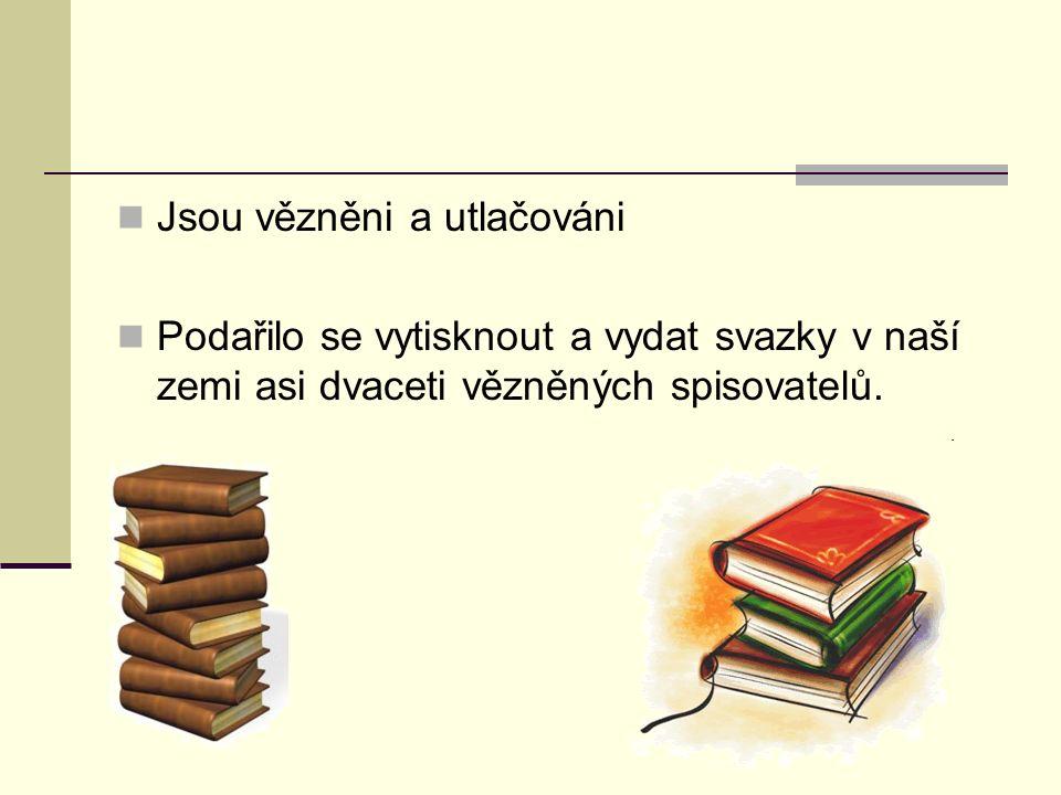Srpen 1989 usilovali o propuštění spisovatelů Bez úspěchu Listopad 1989 podpora českými spisovateli PEN 15.