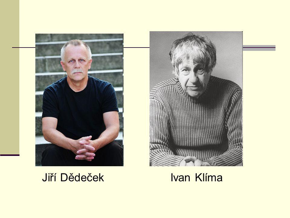 Jiří Dědeček Ivan Klíma