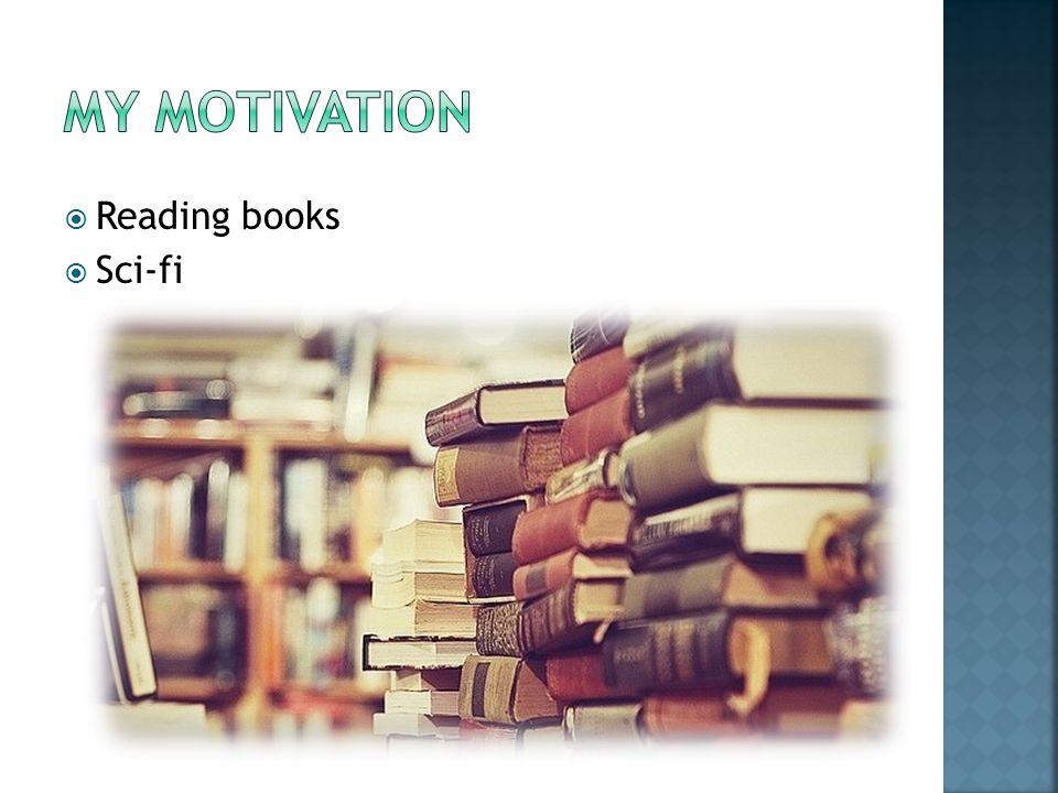  Reading books  Sci-fi