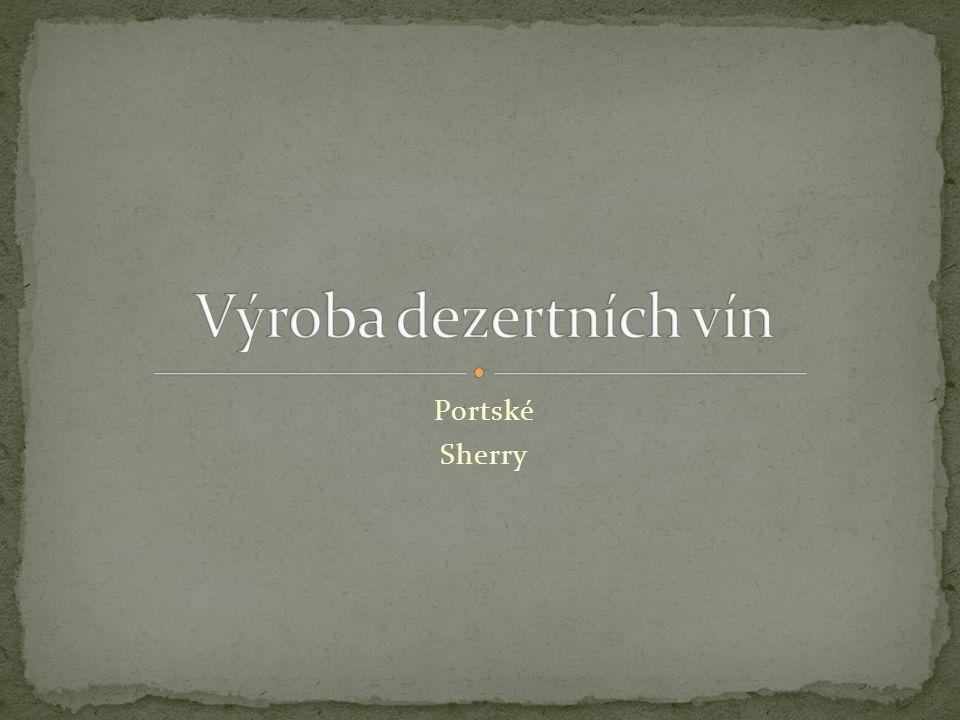 Portské Sherry