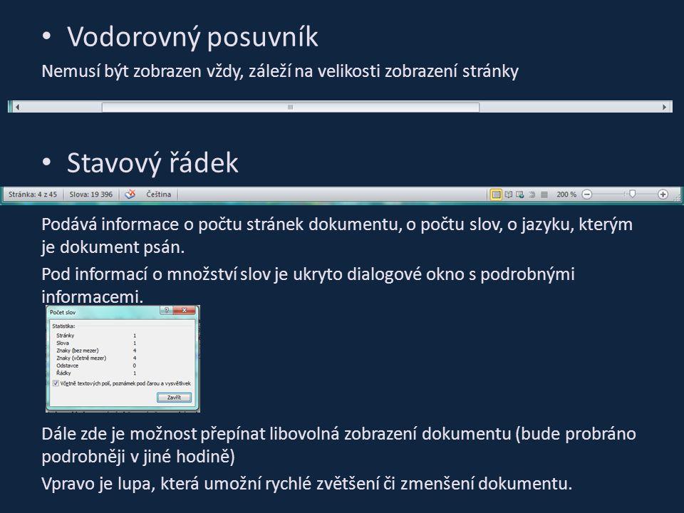 """Základní typografická pravidla Většinou používáme patkové písmo (při psaní dlouhých textů) Patky u písma jej nezkrášlují, ale """"uzavírají a zlepšují tím identifikaci písmena MS Word umožňuje mnoho možností jak zvýraznit text (POZOR na přílišné užívání) Na konci řádku nepoužíváme klávesu Enter Za slovem, interpunkčním znaménkem, závorkou, … píšeme mezeru, ale jsou výjimky Mezeru např."""