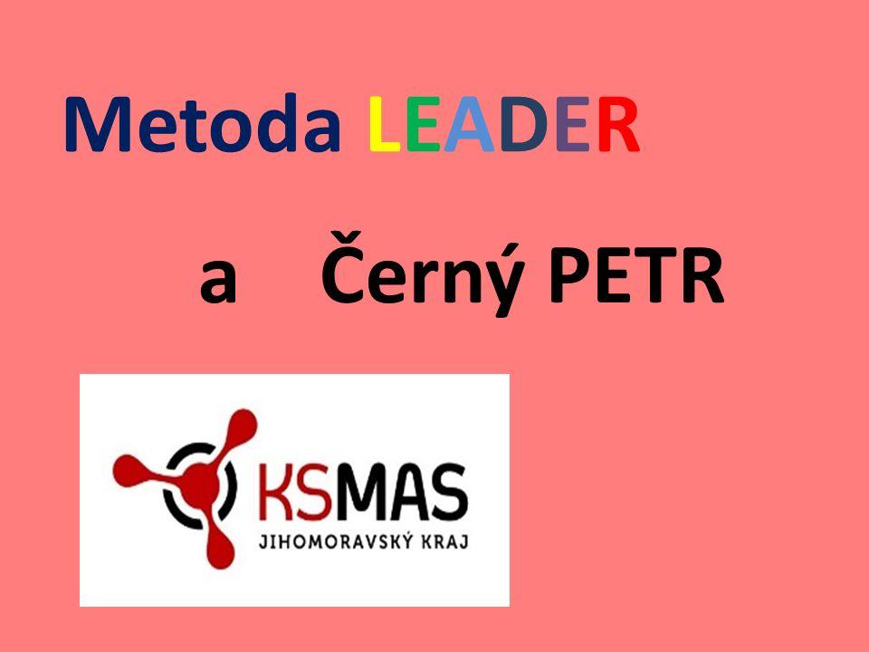 Metoda LEADER a Černý PETR