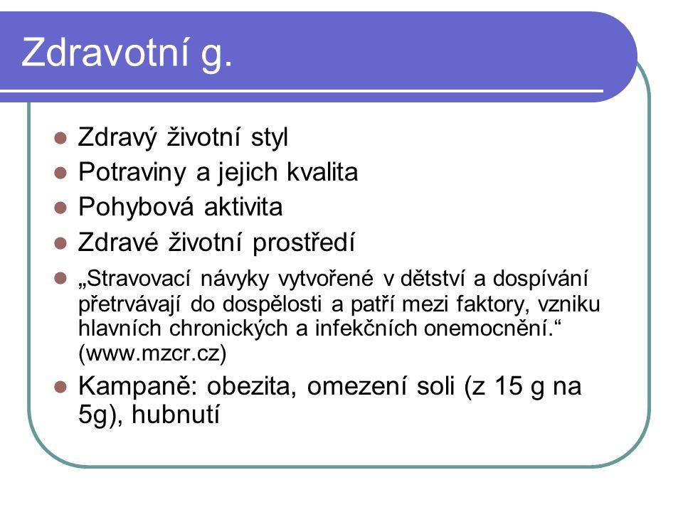 Pohybová gramotnost Nedostatek pohybové aktivity je v ČR veřejně politický problém.