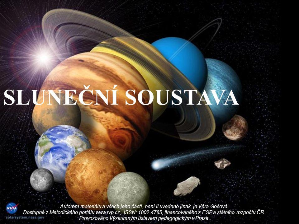 Z ROD SLUNEČNÍ SOUSTAVY Vznik a vývoj sluneční soustavy začal podle odhadů někdy před 4,55 až 4,56 miliardami let gravitačním smršťováním malé části obrovského molekulárního mračna.