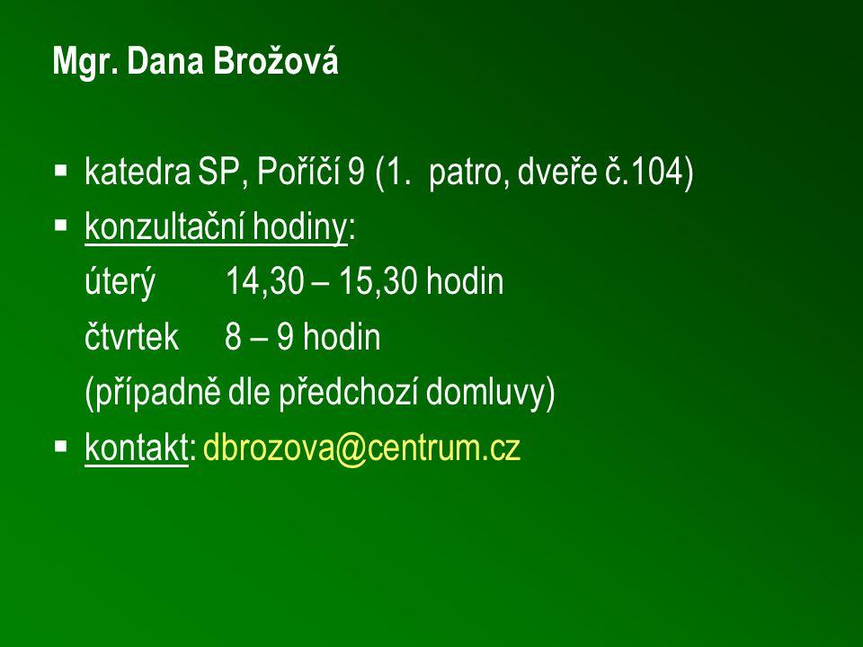  katedra SP, Poříčí 9 (1.